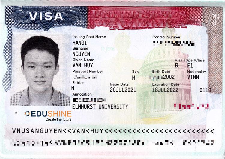 Visa của Huy